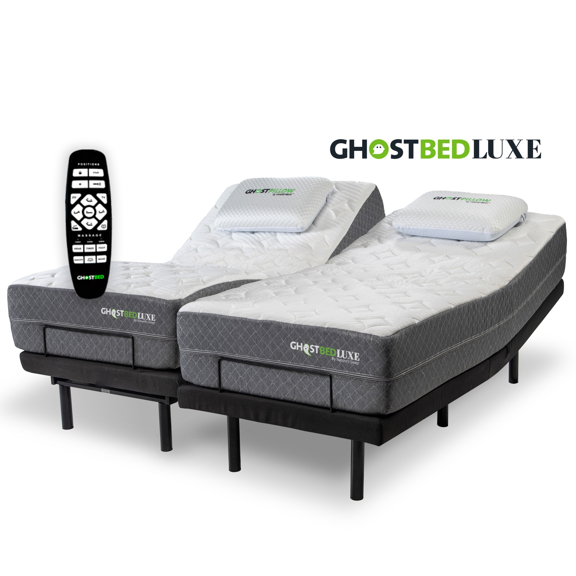 Split King Mattress With Adjustable Base Ghostbed